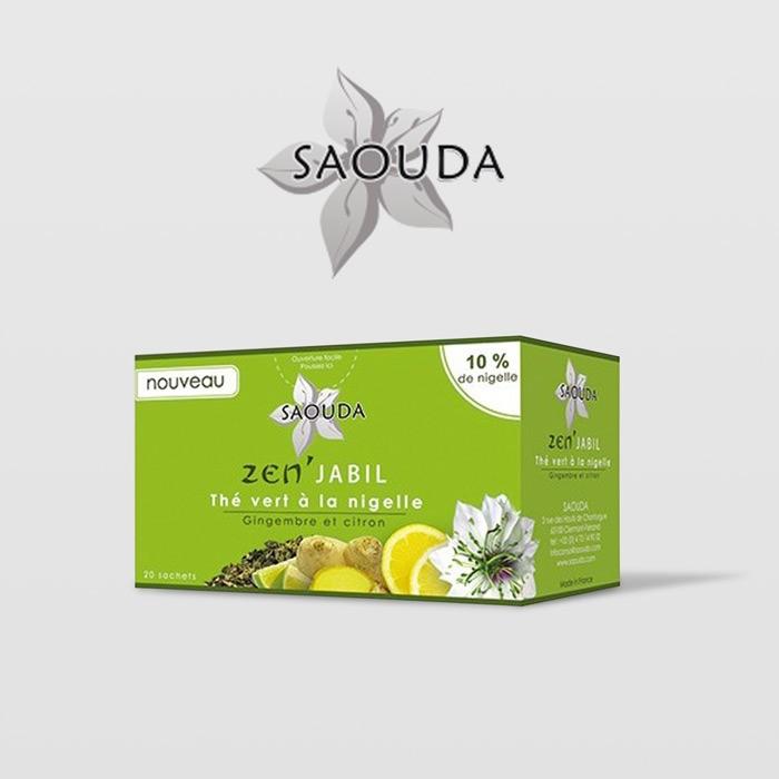 Thé vert à la nigelle Saouda